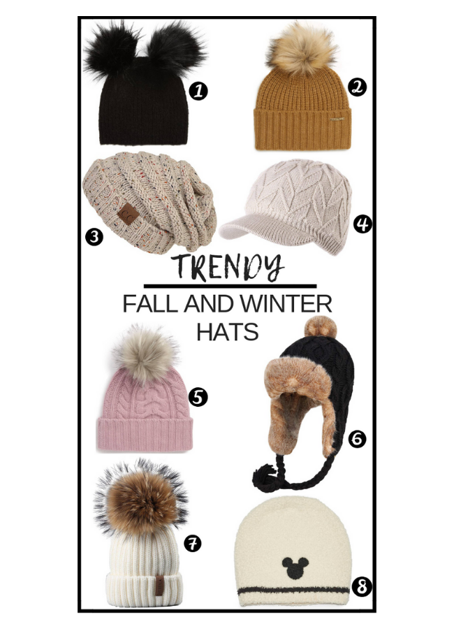 98b66871ee3c6 Trendy and Affordabe Winter Hats for 2018 - Simply Food and Fashion %